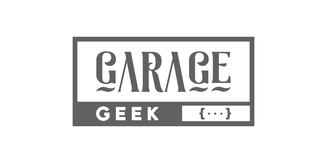 logo garage geek